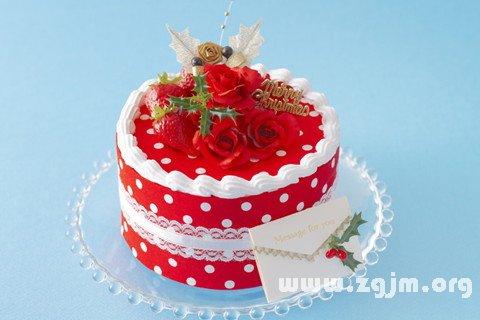 梦见生日蛋糕_周公解梦梦到生日蛋糕是什么意思_做梦