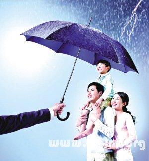 梦见下雨买伞图片